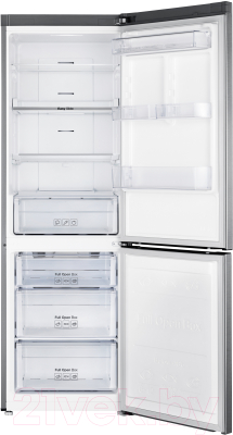 Холодильник с морозильником Samsung RB33A3440SA/WT