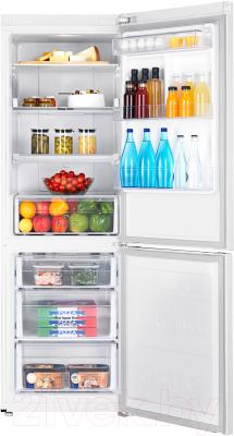 Холодильник с морозильником Samsung RB33A3440WW/WT