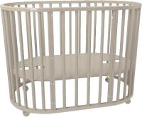 Детская кровать-трансформер Dreams Премиум 8в1 / 1022 (слоновая кость) -