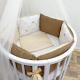 Комплект постельный в кроватку DreamTex Королевский -
