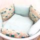 Комплект постельный в кроватку DreamTex Северное сияние -