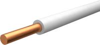 Провод силовой Ecocable ПуВ-1x1 (100м, белый) -