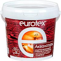 Защитно-декоративный состав Eurotex Аква (900г, дуб) -