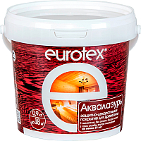 Защитно-декоративный состав Eurotex Аква (900г, калужница) -