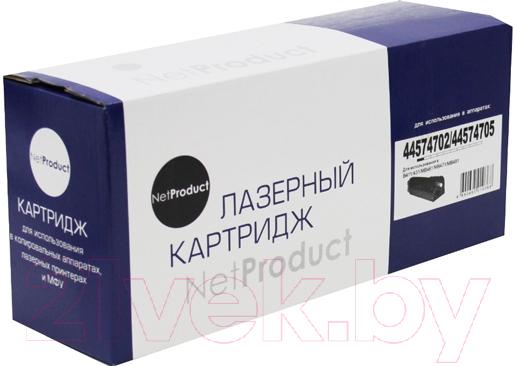 Купить Картридж NetProduct, N-44574702/44574705, Китай, черный
