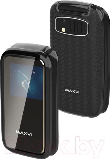 Купить Мобильный телефон Maxvi, E2 (черный), Китай
