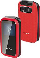 Мобильный телефон Maxvi E2 (красный) -