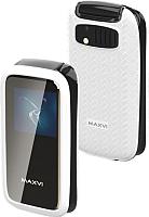 Мобильный телефон Maxvi E2 (белый) -