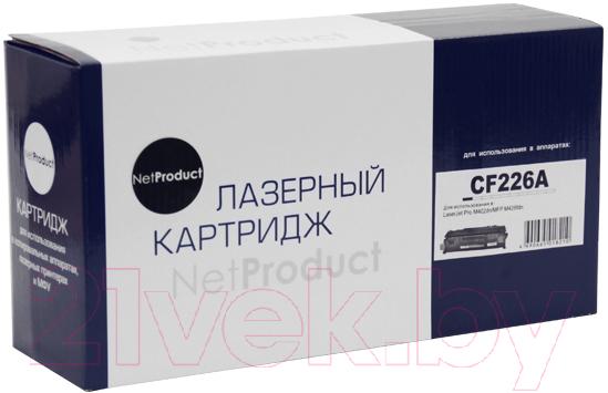 Купить Картридж NetProduct, N-CF226A, Китай, черный