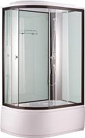Душевая кабина Niagara NG-6710-14 R 120x80x215 (прозрачное стекло/черный) -