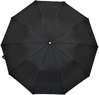 Зонт складной Ame Yoke ОК61-НВ (черный) -