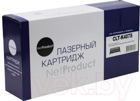 Купить Тонер-картридж NetProduct, N-CLT-K407S, Китай, черный