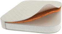 Матрас в кроватку DreamTex Smart Бук Прямоугольный 70x100x9 / 1710 (холкон 8см/кокос 1см) -