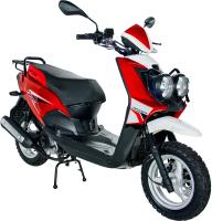Скутер Racer BWS RC50QT-6X (красный) -