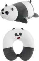 Подушка декоративная Miniso We Bare Bears U-образная регулируемая 1404 (панда) -
