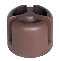 Колпак для вентиляционного выхода Krovent HupCap RAL 8017 (коричневый) -