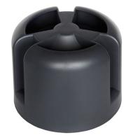 Колпак для вентиляционного выхода Krovent HupCap RAL 9005 (черный) -