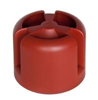 Колпак для вентиляционного выхода Krovent HupCap RAL 3009 (красный) -