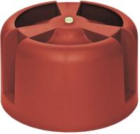 Колпак для вентиляционного выхода Krovent HupCap 270 RAL 3009 (красный) -