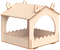 Кормушка для птиц Древо Игр Кормушка для птиц / DI-C001 -