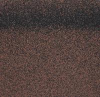 Черепица коньково-карнизная Roofshield Коричневый 17/20м / HR-49 (6.6м2) -