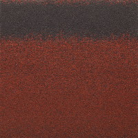 Черепица коньково-карнизная Roofshield Красный 17/20м / HR-07 (6.6м2) -
