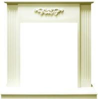 Портал для камина Смолком Lumsden STD-ASP (белый дуб) -
