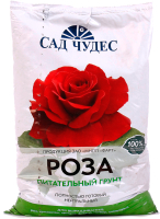 Грунт для растений Сад Чудес Цветочный почвогрунт. Роза (2.5л) -