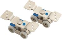Ролики для раздвижных дверей Браво W-100 (60 кг, фикс.) -