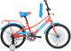 Детский велосипед Forward Azure 20 2021 / 1BKW1C101002 (коралловый/голубой) -