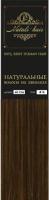 Прядь волос на заколках Flario 17x55 тон 4 (светлый шоколад) -