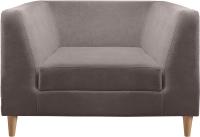 Кресло мягкое Aupi Альфа / 4.2.2 (ткань 6) -
