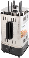 Электрошашлычница VLK Palermo 6500 (стальной/черный) -