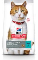 Корм для кошек Hill's Science Plan Young Adult Sterilised Cat Tuna / 604129 (3кг) -