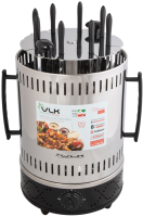Электрошашлычница VLK Palermo 6800 (стальной/черный) -