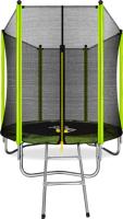 Батут Arland 6FT / ARL-TN-0603 (с внешней страховочной сеткой и лестницей) -