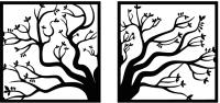 Декор настенный Arthata Волшебное дерево 75x35-B / 014-2 -