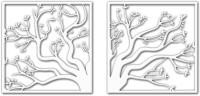 Декор настенный Arthata Волшебное дерево 75x35-V / 014-2 -