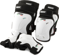 Комплект защиты Roces CHAF3HLARY / S20ERCRO007-00 (L, белый) -