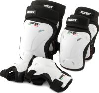 Комплект защиты Roces QS37N7XDFC / S20ERCRO007-00 (M, белый) -