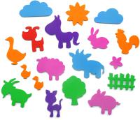 Набор игрушек для ванной El'Basco Toys Ферма / 02-003 -