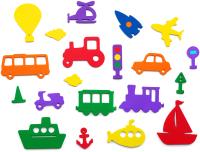 Набор игрушек для ванной El'Basco Toys Транспорт / 03-007 -