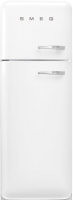 Холодильник с морозильником Smeg FAB30LWH5 -