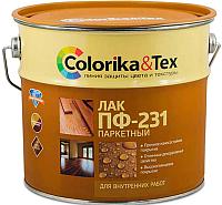 Лак Colorika & Tex ПФ-231 глянцевый для паркета (800мл) -