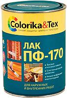 Лак универсальный Colorika & Tex ПФ-170 глянцевый (800мл) -