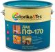 Лак универсальный Colorika & Tex ПФ-170 глянцевый (2.7л) -