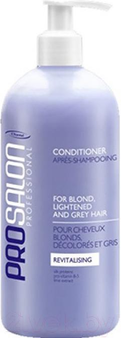 Купить Кондиционер для волос Prosalon, Питательный для светлых осветленных седых волос (500мл), Польша