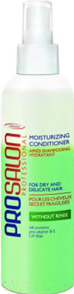Купить Кондиционер-спрей для волос Prosalon, Moisturizing Green двухфазный увлажняющий для сухих волос (200мл), Польша, Professional (Prosalon)