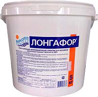 Средство для бассейна дезинфицирующее Маркопул Кемиклс Лонгафор таблетки по 200гр в ведре (5кг) -