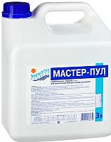 Средство для комплексной обработки воды Маркопул Кемиклс Мастер-Пул 4 в 1 в канистре (3л) -